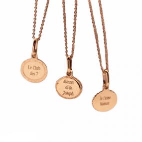 medaille-metal-precieux-personnalsiee-cadeau-maman