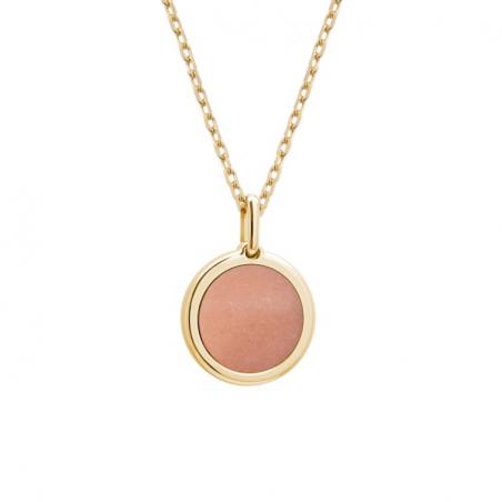 Collier pierre fine personnalisé - Chaine fine - Plaqué or