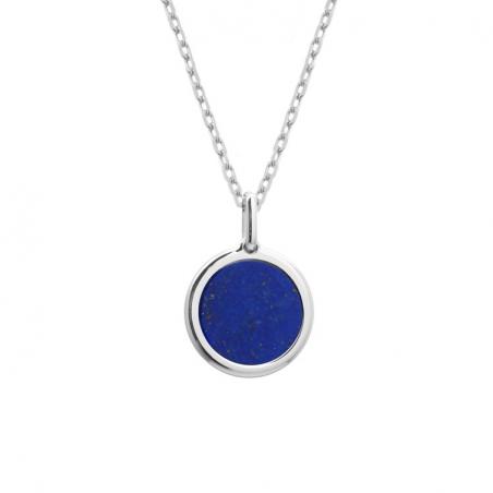 Collier pierre fine personnalisé - Chaine fine - Argent