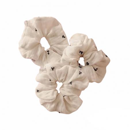 Chouchou blanc personnalisé - Signe astrologique