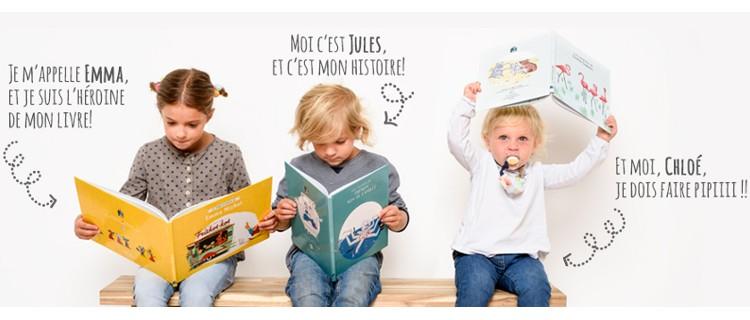 Personnalisez votre livre avec le prénom de votre enfant